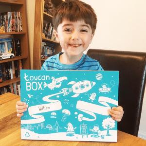 Happy with Toucan Box