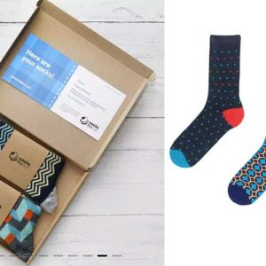 Socks in a box subscription